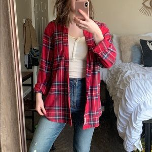 Soft Oversized Flannel